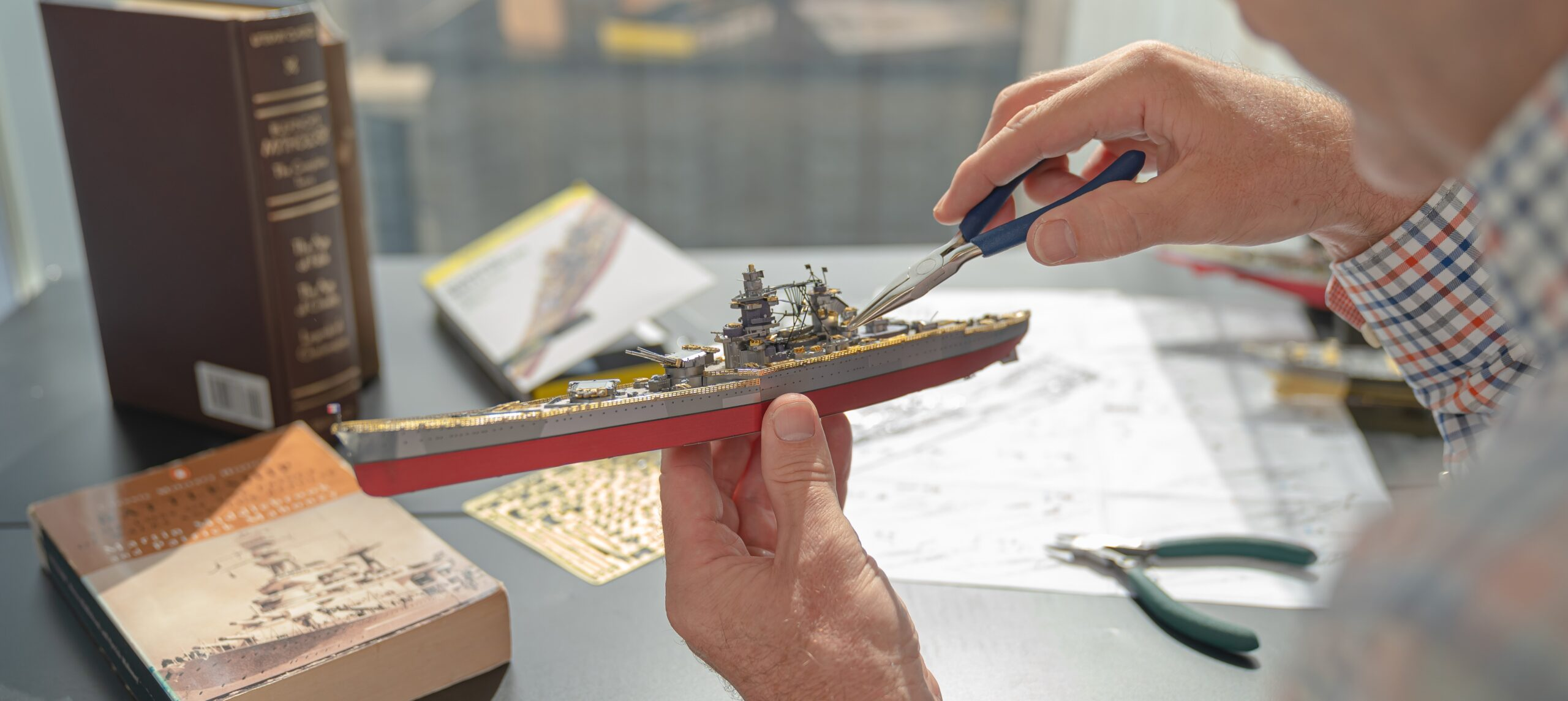 Model kits for adults
